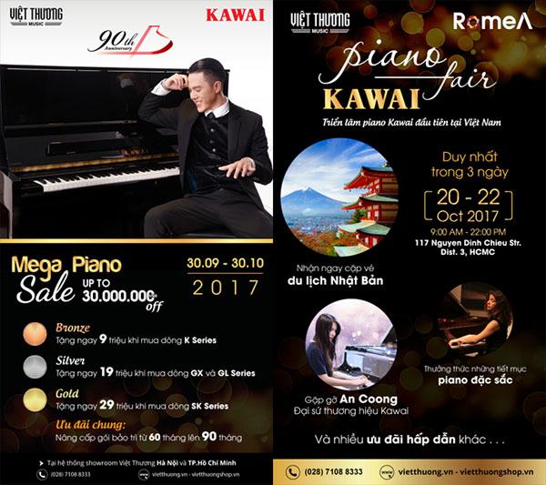 piano kawai fair 2017