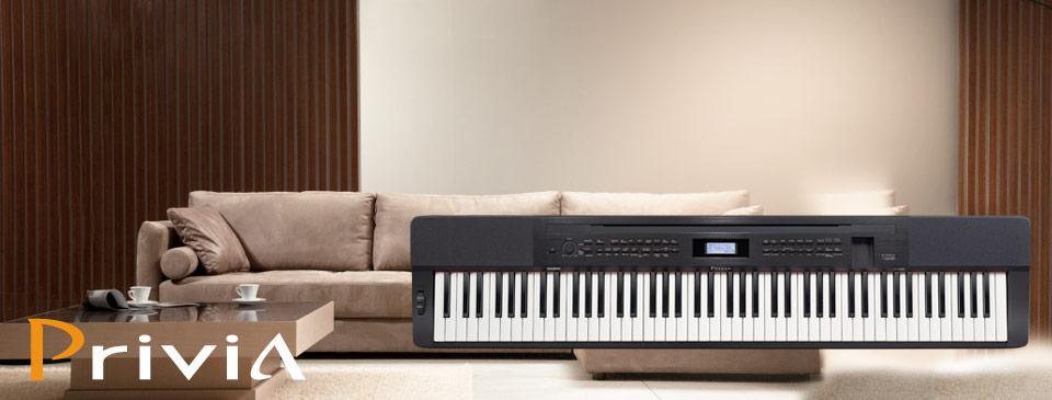 banner piano dien casio px-350