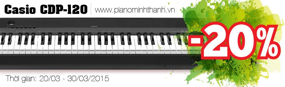 khuyến mãi đàn piano điện CDP-120