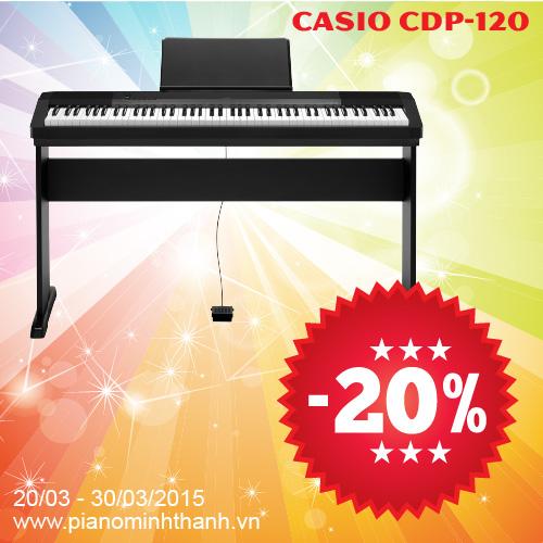 dan piano dien casio cdp-120