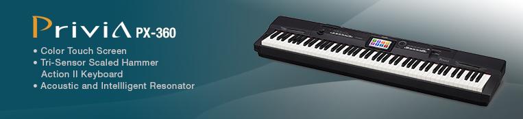 mua piano dien casio px360