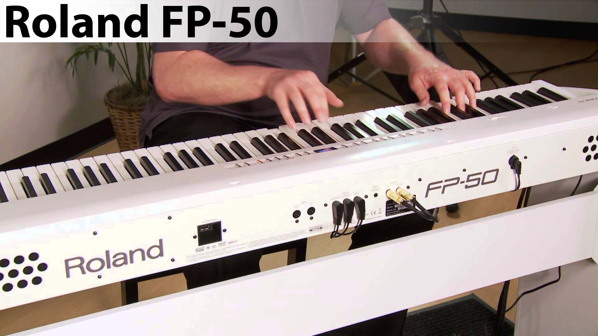 piano digital roland fp-50