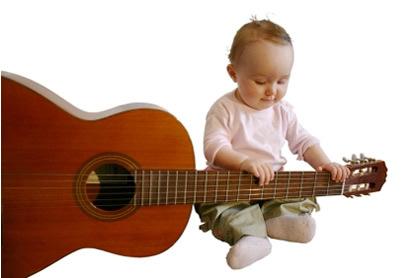 chọn đàn guitar cho trẻ