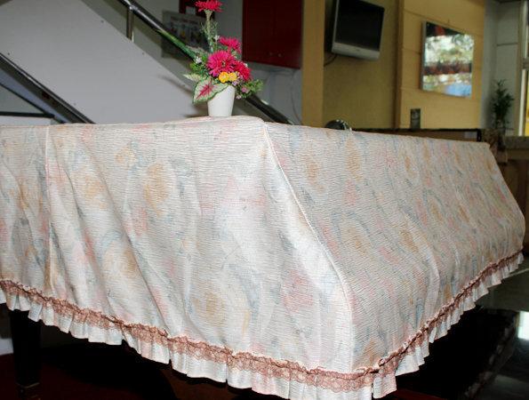 khăn phủ lớn trắng