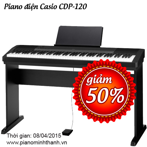 giam 50 piano casio cdp120
