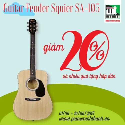 dan guitar squier sa-105