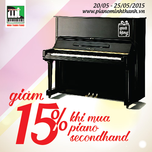 khuyen mai dan piano secondhand
