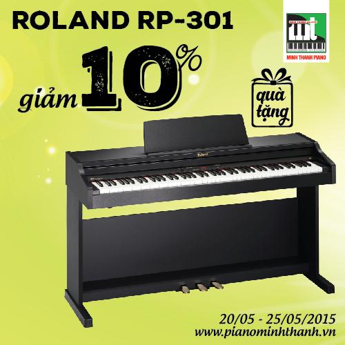 khuyen mai he piano dien roland rp301