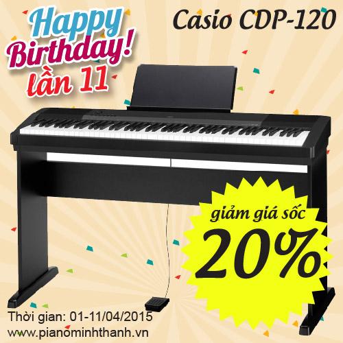 khuyen mai dan piano dien cdp-120