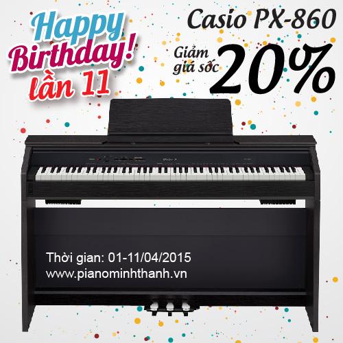 khuyen mai piano dien px-860
