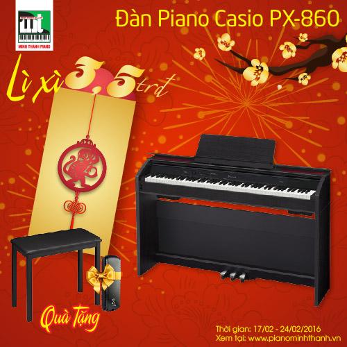 mua piano dien PX-860 li xi ngay 3 trieu 500 nghan dong