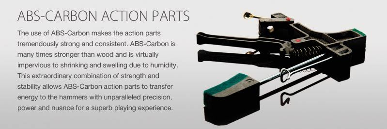 abs carbon piano kawai
