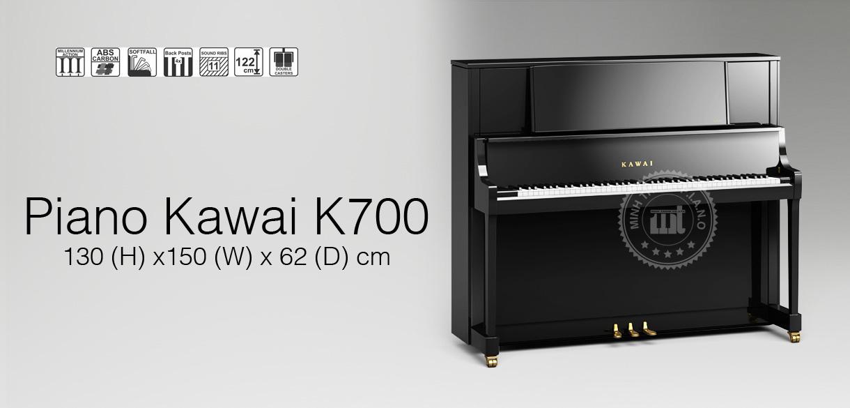 banner piano kawai k700