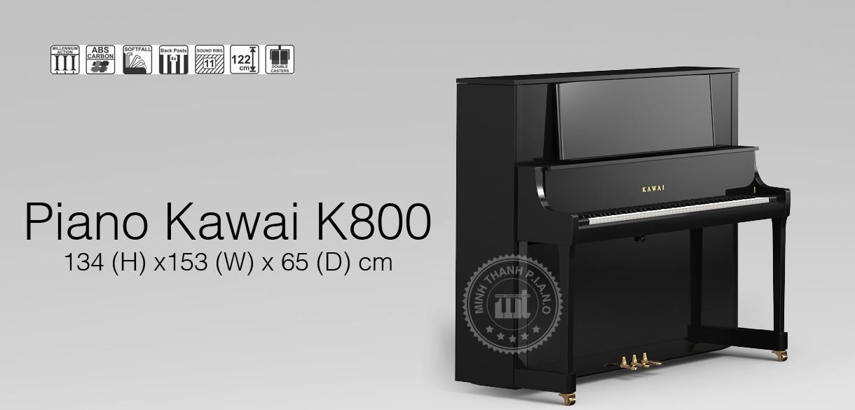 banner piano kawai k800