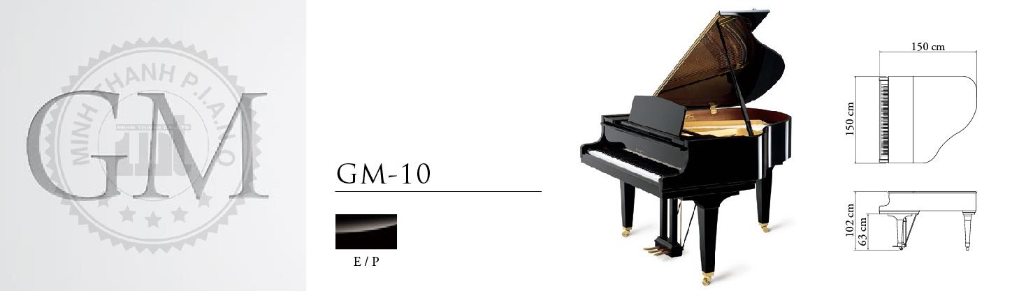 dan piano kawai gm-10k