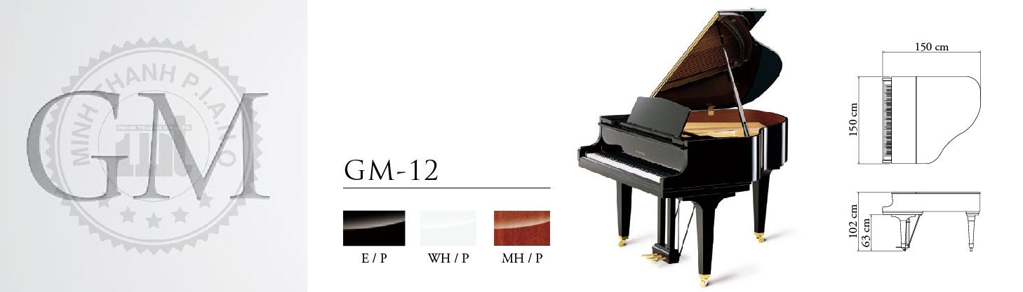 dan piano kawai gm-12g