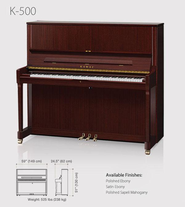 piano kawai k500