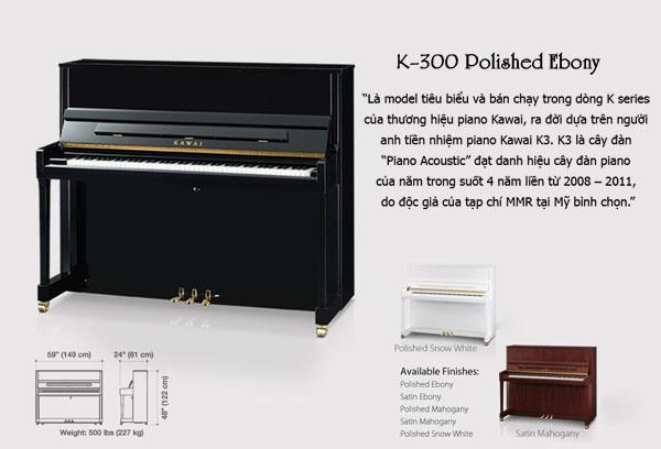 piano kawai k-300