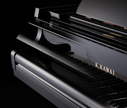 softfall piano kawai gx