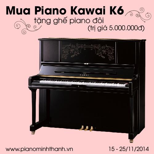 Khuyen mai dan piano Kawai