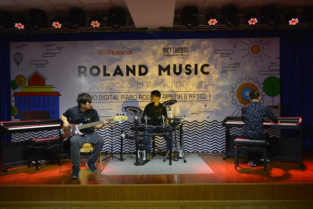 roland music in school 3