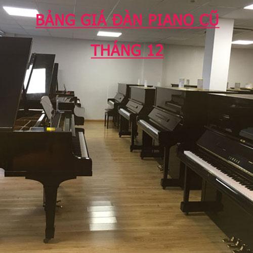 Bảng giá đàn piano cũ cập nhật mới nhất tháng 12 – 2017