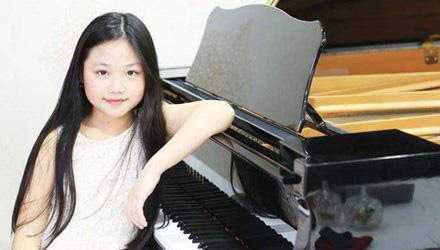 """Cô bé """"Vàng"""" piano Việt Nam"""