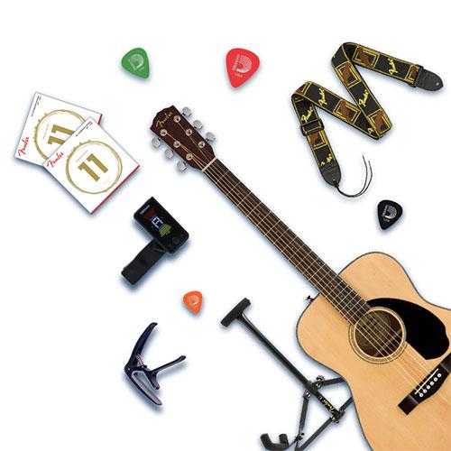 Khuyến Mãi HOT: Combo Guitar Fender CC-60S Giá Chỉ 6,200,000 VND