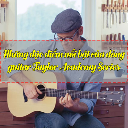 Những đặc điểm nổi bật của dòng guitar Taylor Academy Series
