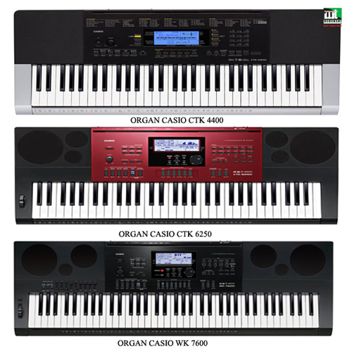 Top 3 cây đàn organ giá rẻ trong tháng 7/2016