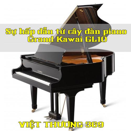 Sự hấp dẫn từ cây đàn piano Grand Kawai GL10