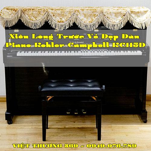 Xiêu Lòng Trước Vẻ Đẹp Đàn Piano Kohler Campbell KC115D