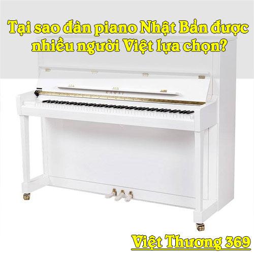 Tại sao đàn piano Nhật Bản được nhiều người Việt lựa chọn?