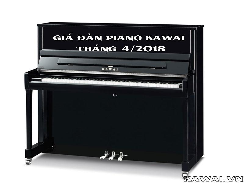 Bảng giá đàn piano Kawai tháng 4 - 2018 tại Việt Thương Music