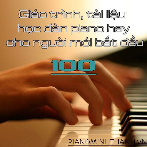 Tổng hợp 100 bộ tài liệu học piano từ cơ bản đến nâng cao