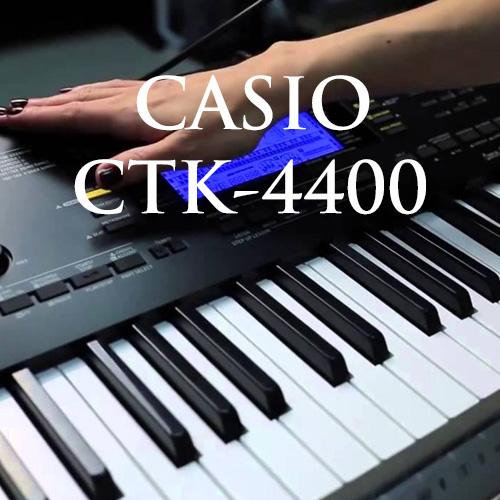 Clip giới thiệu đàn organ Casio CTK-4400