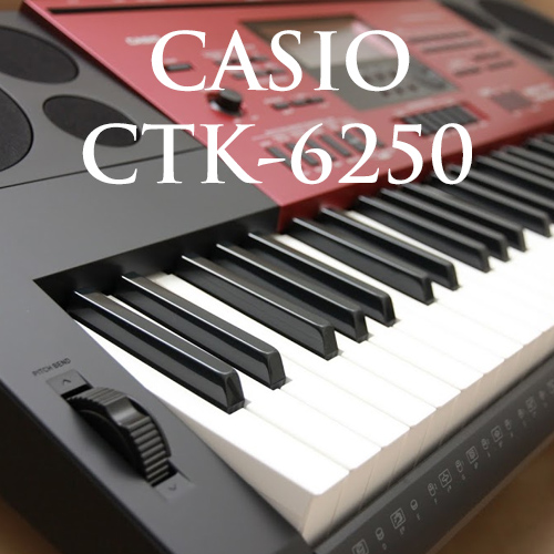 Clip hướng dẫn sử dụng organ Casio CTK-6250