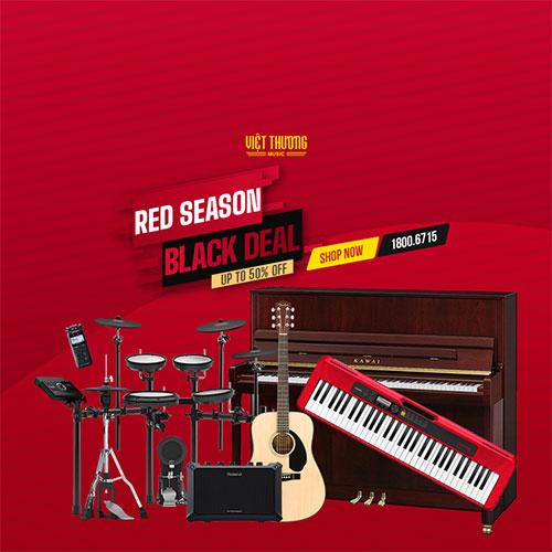 RED SEASON: Đàn piano cơ GIẢM GIÁ SỐC gần 20 triệu