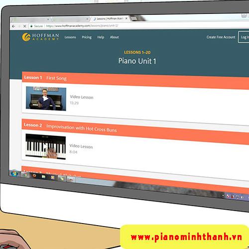 Tổng hợp những trang web học đàn piano miễn phí