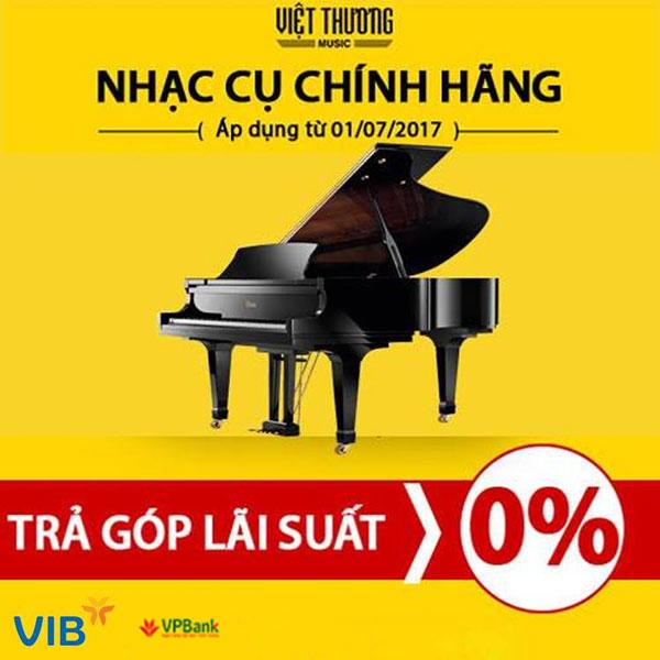 Mua đàn piano cũ trả góp lãi suất 0% tại Việt Thương 369