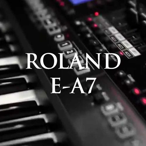 Hướng dẫn sử dụng đàn organ Roland E-A7