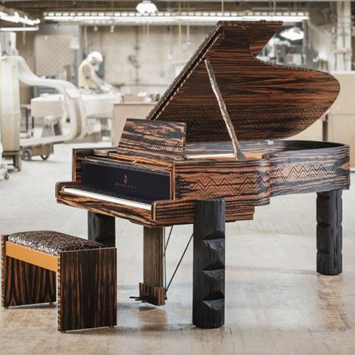 """Piano Steinway """"KRAVITZ GRAND"""" - Đúng Nghĩa Một Tác Phẩm Nghệ Thuật"""