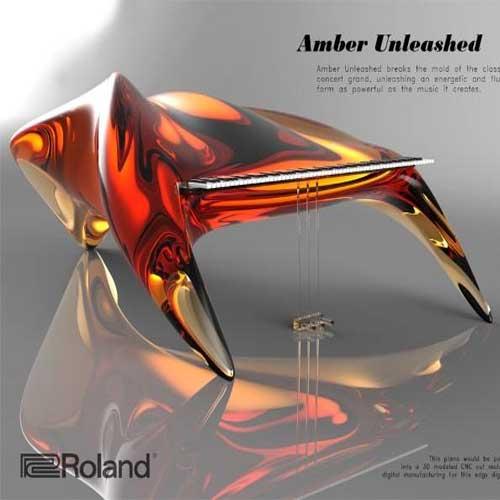 Những thiết kế xuất sắc nhất của Roland Digital Piano Design Awards