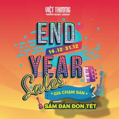 Chương trình End Year Sales 2018: Giá chạm sàn - Sắm đàn đón tết
