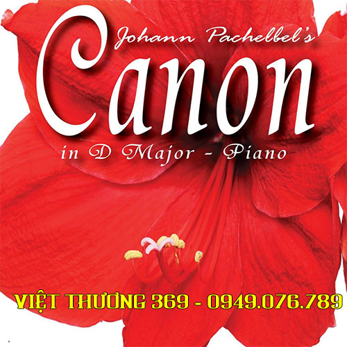 Sheet nhạc piano Canon In D