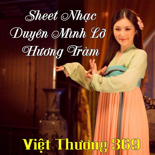 Sheet Nhạc Piano Duyên Mình Lỡ - Hương Tràm