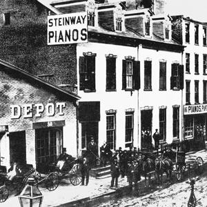 Đôi nét lịch sử về thương hiệu đàn piano Steinway & Sons