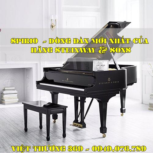 SPIRIO  - Dòng đàn mới nhất của hãng Steinway & Sons