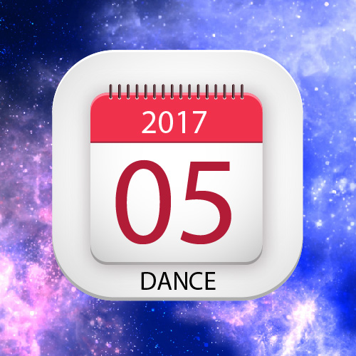 Lịch thuê phòng múa-nhảy Việt Thương 369 tháng 05/2017
