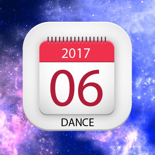 Lịch thuê phòng múa-nhảy tháng 06/2017
